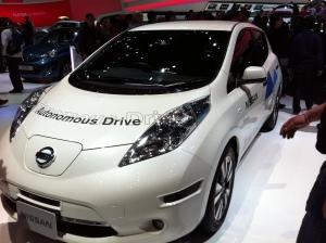 Autonomous drive, a near robot car.
